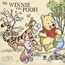 winnie-the-pooh-wall-calendar-2017