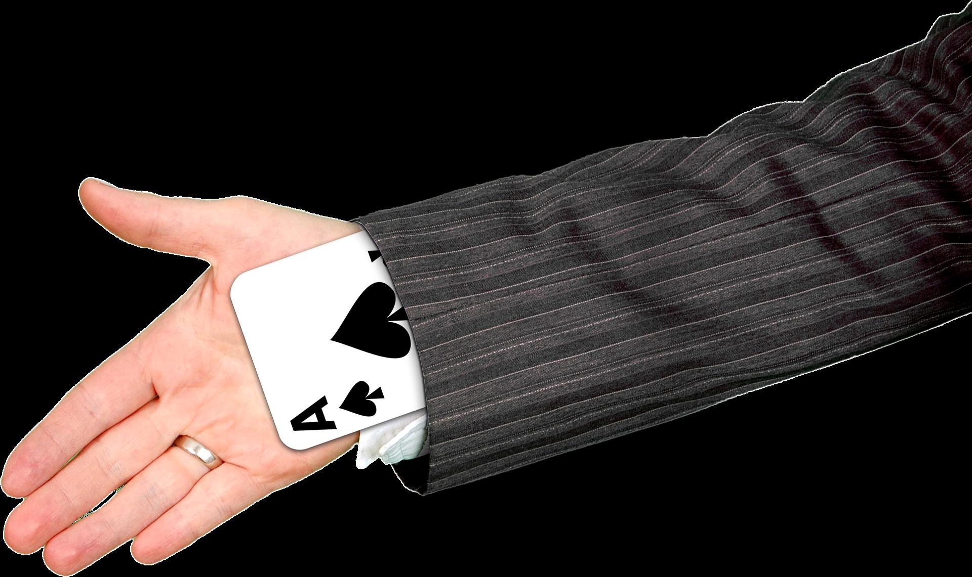 cardstacking